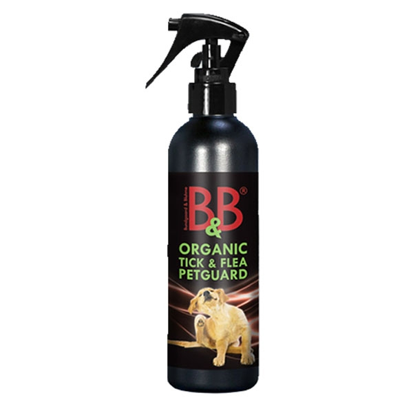 Image of   B&B Petguard økologisk loppemiddel, 500 ml spray