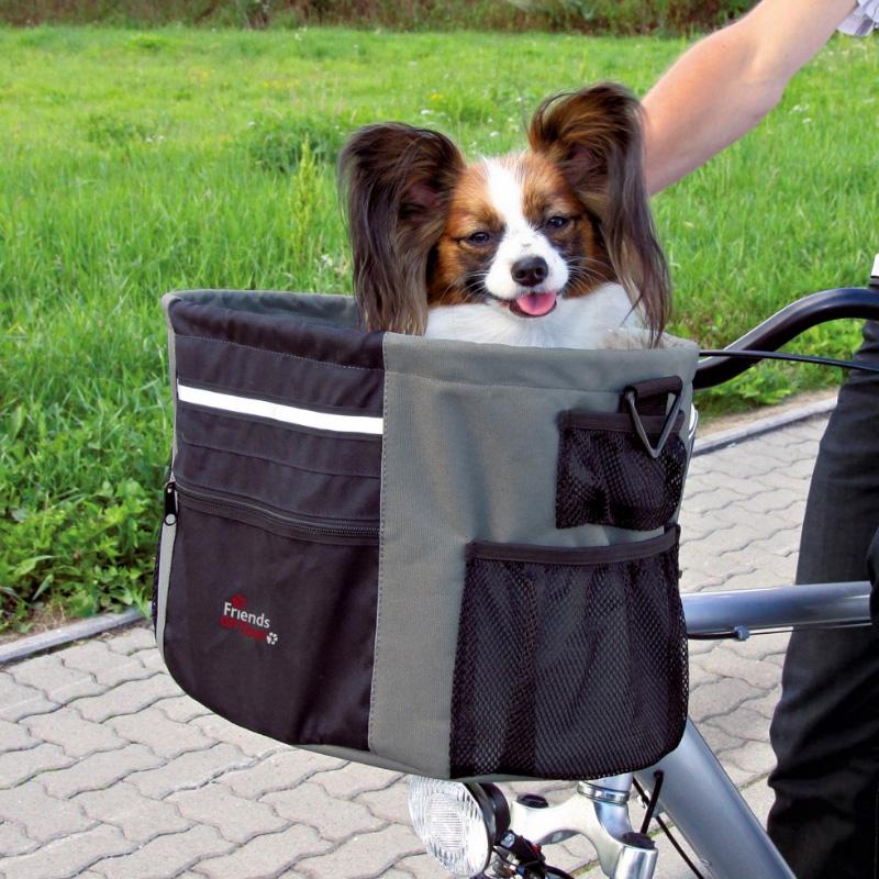 Image of   BikerBox Cykeltaske til hunde